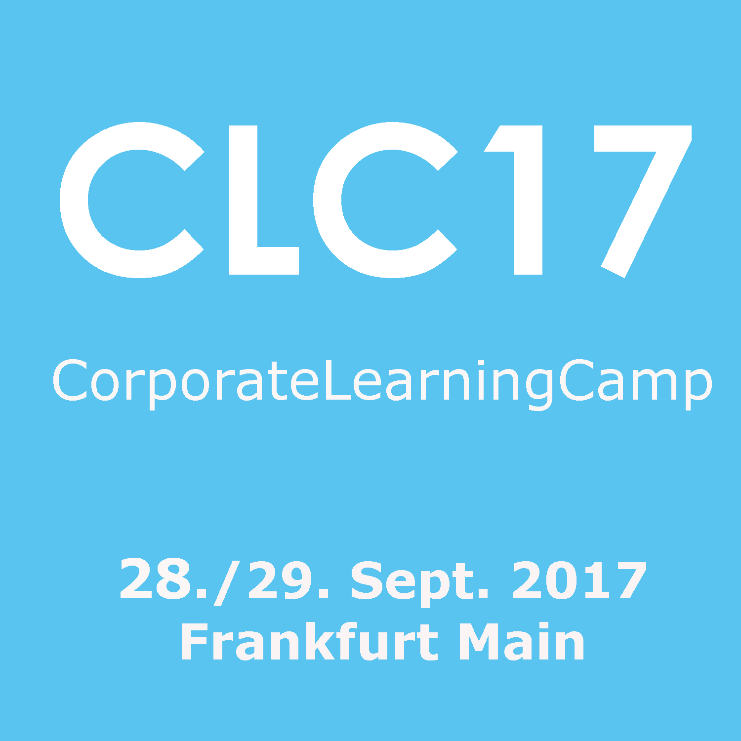CorporateLearningCamp - CLC17